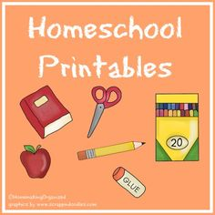Printables include Kid Chore Charts, 34 Weeks of Clean Printables, Home and Garden Printables, and MORE. Plus, the site has a Homeschooling category as well - check it out. http://www.homemakingorganized.com/