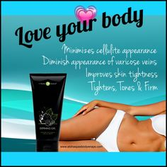Our Defining gel helps with toning, tightening & firming and can be used twice Dailey. Use in between wrap to enhance your results . Help with the appearance of cellulite & varicose veins. Join our free loyal customer program you get it for just $45 at www.alohaspasbodywraps.com #health #fitness #itworks #bodywraps #skinnywraps #cellulite #bodybuilding #cardio #gym #stretchmarks #bodyafterbaby #slimdown #thighs #stomach #lostweight #dieting #overweight #diet #cleaneating #lovehandles…