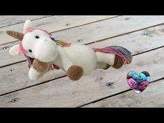 Amigurumi Licorne crochet 2/2 / Unicorn amigurumi crochet (english subtitles) - YouTube