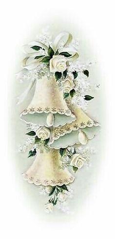 Vintage Wedding Cards, Vintage Wedding Invitations, Vintage Greeting Cards, Vintage Bridal, Vintage Postcards, Wedding Bells Clip Art, Wedding Art, Wedding Images, Old Cards