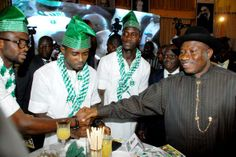 """President Goodluck Jonathan has revealed that he could fly to Brazil in the summer, to support the Super Eagles at the World Cup.He made these remarks on Wednesday, when the Nigeria Football Supporters Club installed him as their Grand Patron.""""The Year 2014 is a very important one for our nation, a"""