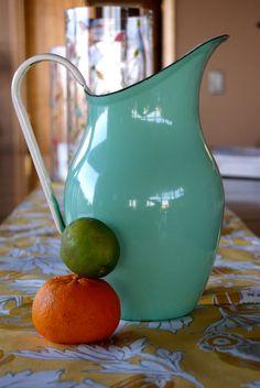 Wooooooow! :O Beautiful mint green enamel Emalia olkusz by VtgHawaiianBeauty