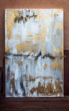 Check out this item in my Etsy shop https://www.etsy.com/uk/listing/241222417/abstract-bohemian-metallic-painting