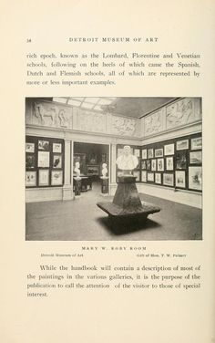 A brief history of the Detroit Museum of Art and its collections  illustrated Published 1902 by [The Museum] in Detroit .