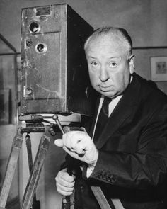 Alfred HITCHCOCK - An English film director and producer, Alfred Hitchcock would change the face of suspense and thriller movies, framing shots to maximize fear and tension and mimicking points of view. He made cameos in most of his own films, which always makes for a fun Where's Waldo moment. He was knighted in 1980, the same year he passed away.