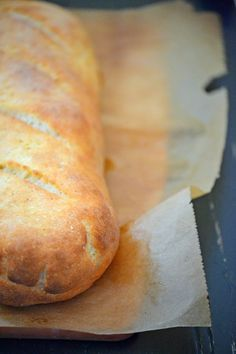 Gluten free french-bread. This site has great tips for those of us have to eat gluten free.