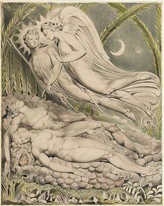 William Blake's Mesmerizing Illustrations for John Milton's Paradise Lost | Brain Pickings