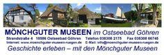 Besuchen Sie in Ihrem Urlaub die Museen der Halbinsel Mönchgut auf Rügen. http://ruegen-blog.com/cgi-bin/weblog_basic/index.php?p=2416