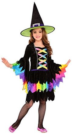 Tween Costumes, Buy Costumes, Costume Shop, Costumes For Women, Kids Witch Costume, Halloween Costumes, Dress Up Day, Costume Collection, Rainbow Colors