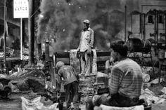 a workman's portrait