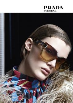 """Prada Donna Eyewear"" from Vogue, July Read it on the Texture app-unlimited access to top magazines. Prada Sunglasses, Sunglasses Women, Versace Shoes, Miuccia Prada, Eyeglasses, Eyewear, Portrait Photography, Vogue, Instagram Posts"