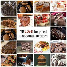 18 Irrestable chocolate recipes | HostessAtHeart.com
