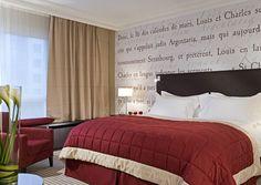 Chambre Luxury avec lit king size au Sofitel Strasbourg Grande Ile | France   #France #Strasbourg #Hotel #Chambre #Bedroom
