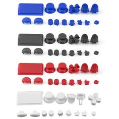 Button Kits for PS4 Controller 4.0 Version #ps4 #button #kits #sets #cover #case                    Whatsapp/Tel: +8618390588393   Skype/Email: iqiku02@honsoncn.com