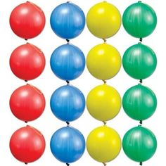Amscan Fun Filled Assorted Colors Punch Balloons (14 Piece), Multicolor, 8'. #Amscan #Filled #Assorted #Colors #Punch #Balloons #Piece), #Multicolor,