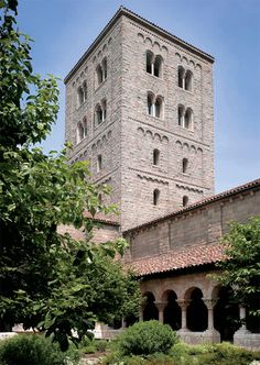 The Cloisters Museum and Gardens (art and architecture of medieval Europe), New York.