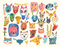Mythical masks