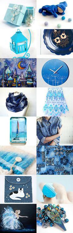 spring blue by Natalja on Etsy--Pinned with TreasuryPin.com