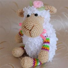 Mathilde Sheep Free Crochet Pattern