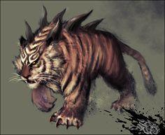 inspi bestiaire - Bog+tiger+by+ilison.deviantart.com+on+@deviantART