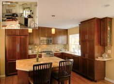Before and after home renovations by Murray Lampert