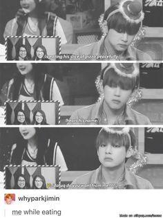 Hahaha our V so cute 😍😍
