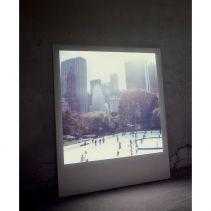 Backlit Polaroid Art #inspiration