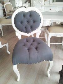 Brocante stoelen met ptt stof oude barok stoelen en for Chaise longue barok