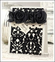 Luxe Wedding Card for a Friend's Challenge   Colleen Dietrich Designs