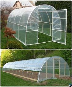 Diy pvc pipe greenhouse 15 diy green house projects instructions 25 diy greenhouse plans you can build on a budget Diy Greenhouse Plans, Greenhouse Gardening, Hydroponic Gardening, Hydroponics, Greenhouse Wedding, Mini Greenhouse, Homemade Greenhouse, Tunnel Greenhouse, Diy Gardening
