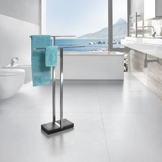 Menoto Towel Stand. Star in the Spa: Functional designer item for your bathroom.