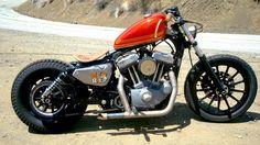 #harley#davidson#bobber#motorcycle#sportster