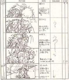 noahberkley:  Pages from Katsuhiro Otomo's storyboard's for Akira. Posted up on Otomblr a while ago but the link's old. He reposted them on mediafire and they're also on dropbox. Grab em before they're lost again. PS: In Japanese animation, the director is in charge of storyboarding the entire film. Dudes like Katsuhiro Otomo, Mamoru Oshii, Mamoru Hosada, Satoshi Kon, Masaaki Yuasa, and Hayao Miyazaki. Miyazaki only does half the boards at the beginning of the project to make sure he's ...