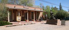 Canyon Road arts district, Santa Fe