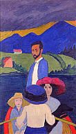 """Gabriele Münter, """"Boating"""", 1910 Milwaukee Art Museum http://collection.mam.org/details.php?id=25610"""