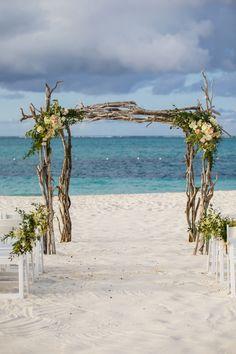 Beach Wedding Bouquets, Beach Theme Wedding Invitations, Beach Wedding Reception, Wedding Set Up, Beach Ceremony, Beach Wedding Decorations, Wedding Tips, Wedding Ceremony, Wedding Arbors