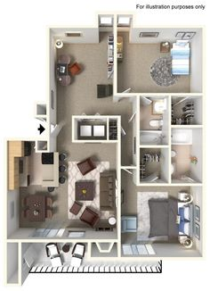 With apartment ammenities like these, you may never want to go out!