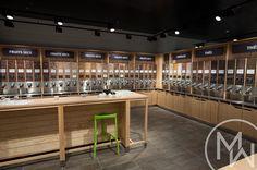 Bulk Food, Store Displays, Retail Shop, Boutique, Store Design, Zero Waste, Coffee Shop, Kitchen Design, Shops