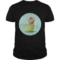Cool Kitten with glasses SHIRT T shirts