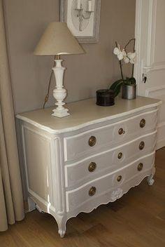 meuble peint