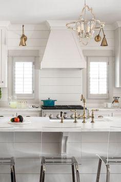 Farmhouse Kitchen With Shiplap Backsplash. White Farmhouse Kitchen With Shiplap  Backsplash Willow Homes