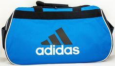 adidas Diablo Small II Duffel Bag, Cobalt Blue/Black/White -- More info could be found at the image url.