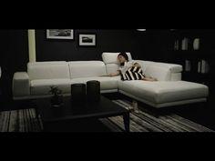 Designer sofa – Borghese   Italian modern furniture from Natuzzi Italia