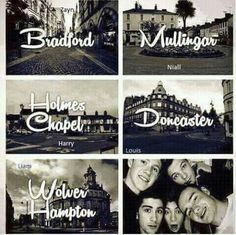 One direction cities.