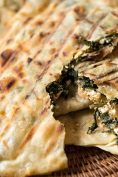 NYT Cooking: The Greek cookbook author Aglaia Kremezi has no problem making phyllo dough at home whenever she makes anything pie-like. With a little practice, anyone can do it.  For these simple skillet pies, she recommends grilling them in an iron stovetop ridged pan or on a grate over coals. Filled with feta and herbs, these flat thin-crust pies give a new meaning to grilled pizza.