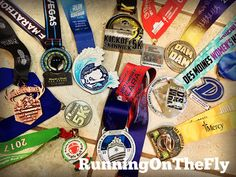 Running on the Fly: My #PlotTwist of a Year - Races & Bling
