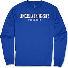 Alta Gracia Concordia University Wisconsin Long Sleeve T-Shirt $11.95 MORE COLORS