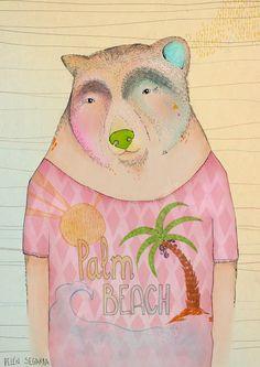 oso con camiseta de belen segarra