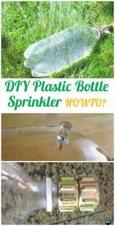 DIYPlasticBottleSprinkler Instructions - DIY Plastic Bottle Garden Projects & Ideas