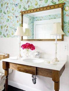 Quiero dar a mi mueble de baño un toque original | Etxekodeco